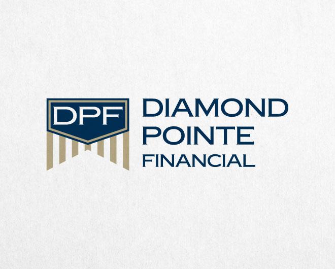 Diamond Pointe Financial Logo by Beyond Lines